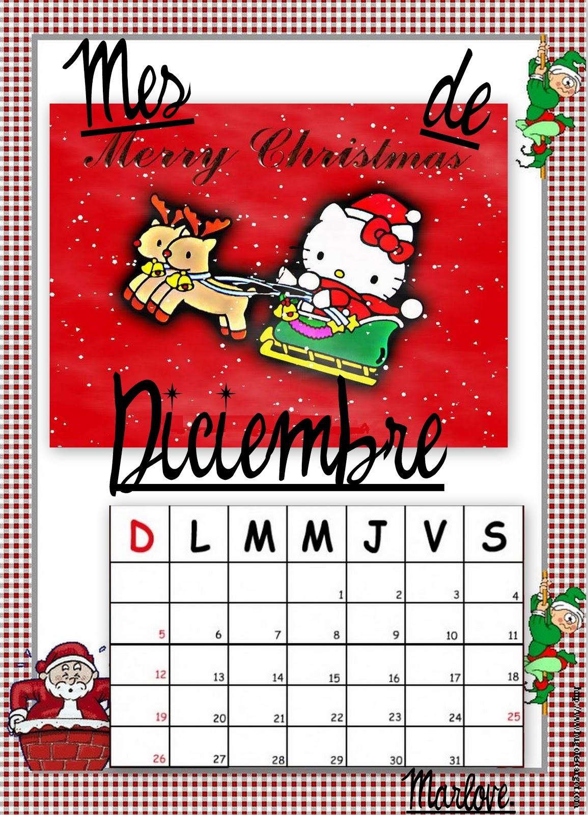 lleg diciembre calendarios navideos hello kitty