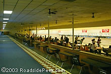 You Had To Wait In Line To Bowl