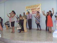 Pastores unidos em oração pela Melhor idade