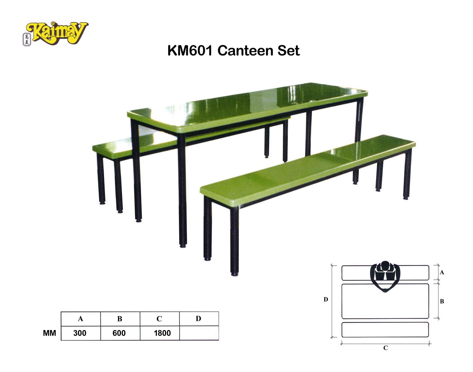 KAIMAY TRADING PTE LTD Projects Wholesaler Canteen Set