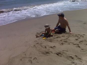 Disfruta la playa