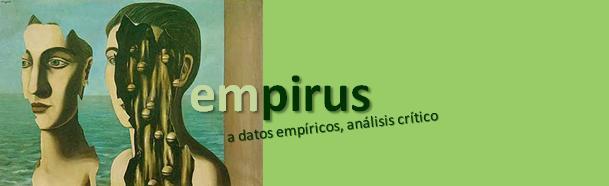 Empirus. A datos empíricos análsis crítico.