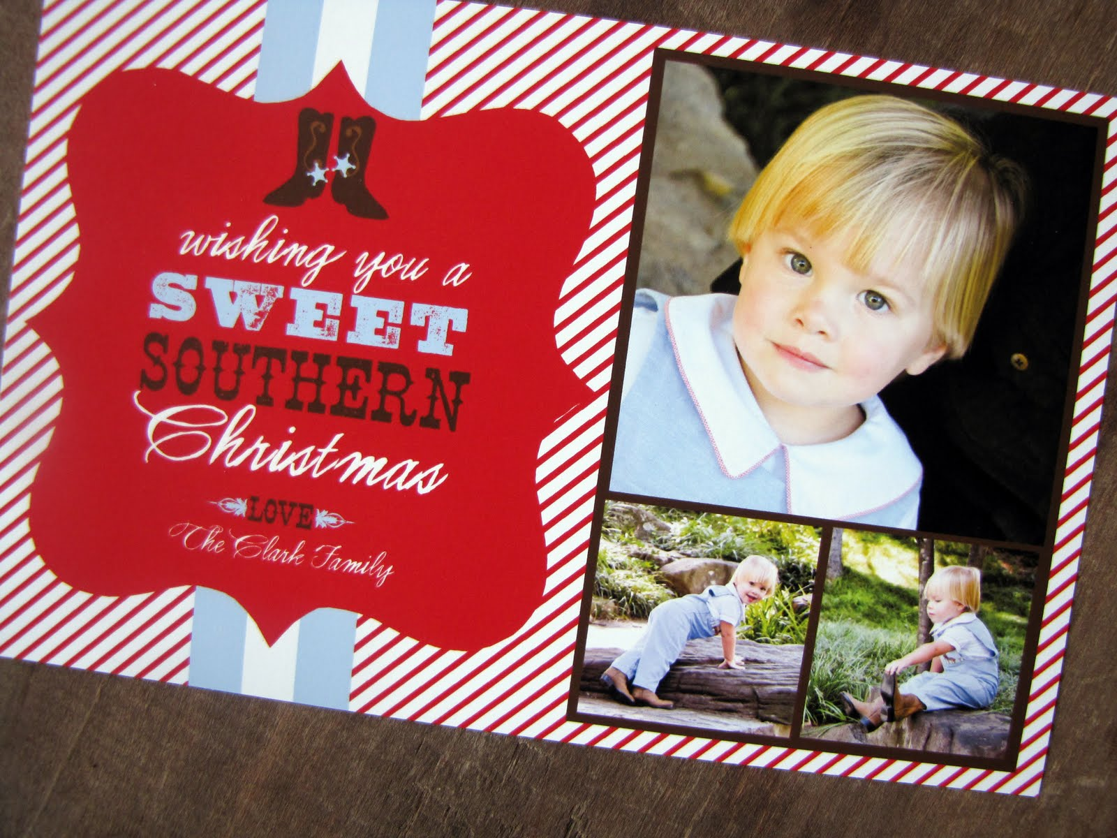 Nico and LaLa: Cute, Cute Custom Christmas Cards!