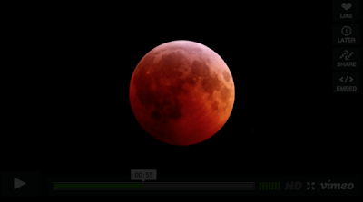 El eclipse lunar (Video)