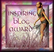 ~ Inspiring Blog Award ~ from Mat