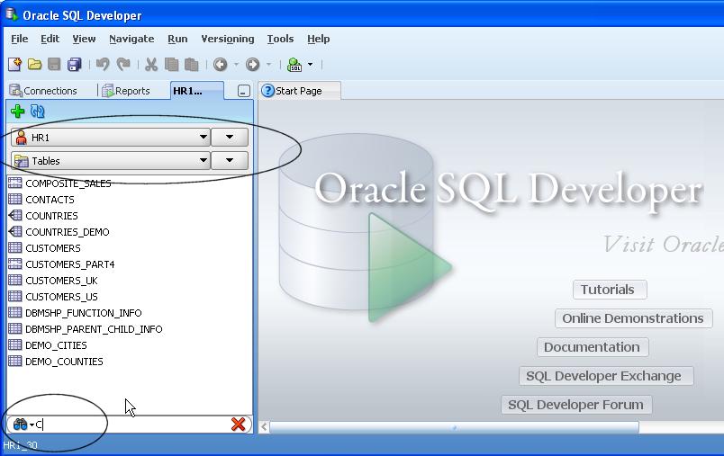 oracle drop tables in schema 1