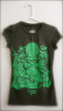LADIES KUSH GREEN ON CHARCOAL