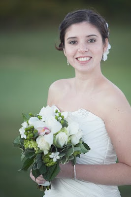 RI bridal portrait