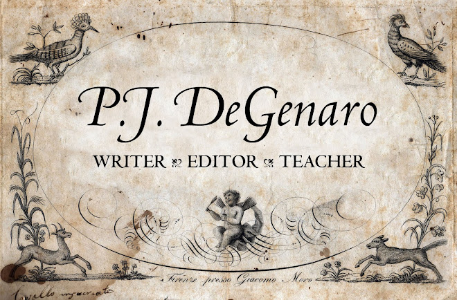 P.J. DeGenaro – Writer, Editor, Teacher