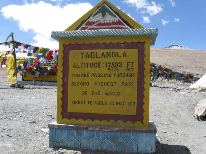 Taglangla La 17,582ft