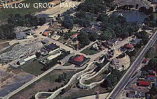 The Willow Grove Park was the attraction that gave Willow Grove country-wide prominence and world-wide fame. Peter Widener and William Elkins, two influential men in the Philadelphia Rapid Transit Company, conceived the concept of creating a park to entice Philadelphians and others to .