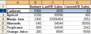 Freeze First Row in Excel