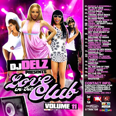 Fleet DJs presents DJ Delz: Love In The Club Volume 11