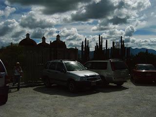 Paysages du Mexique - Mitla eglise - photo blog voyage