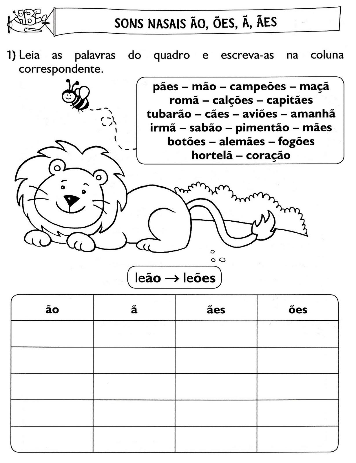 Blog da prof katia ortografia sons nasais