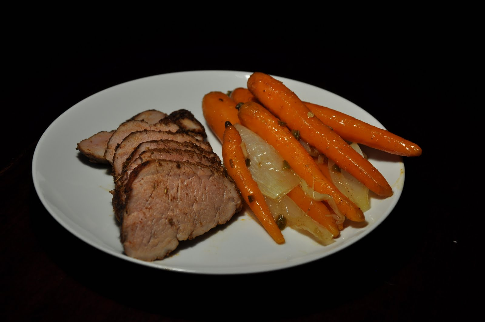 Slice of Rice: Spice-Rubbed Pork Tenderloin with Roasted ...