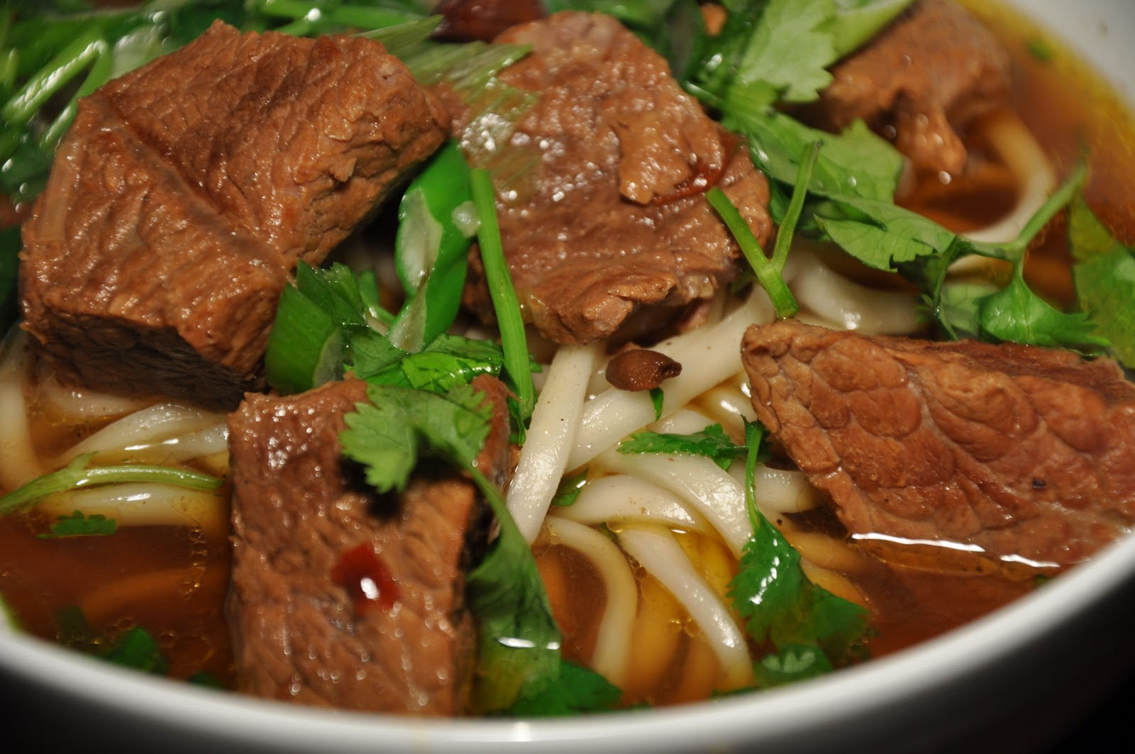 Slice of Rice: Chinese New Year Meal #5 - Red Braised Beef Noodle Soup ...