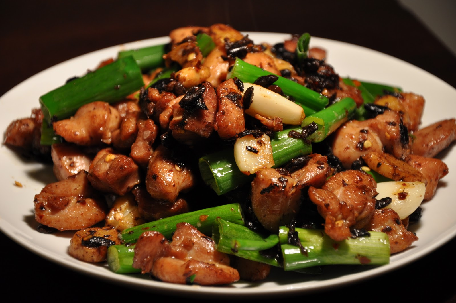 bean sauce chicken and black bean tostizzas recipes dishmaps bean ...