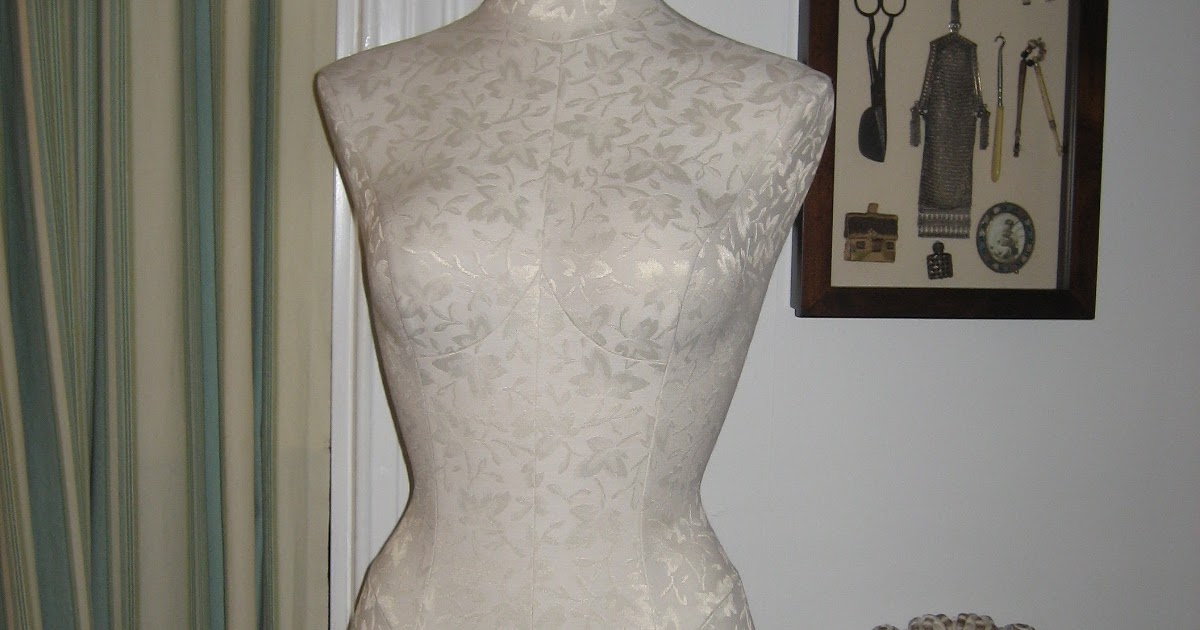 Tiptoethrough: How to make over a dress form, in case you ...