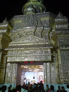 Randhirs blog durga puja snaps in patna durga puja pandal near railway station patna thecheapjerseys Image collections