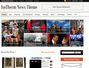 IsoTherm News Theme