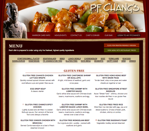 Pf+changs+menu+raleigh+nc
