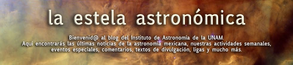 La estela astronómica