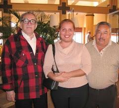Con el gran Gabo