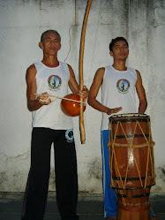 Mestre Maranhão e Instrutor Zangado