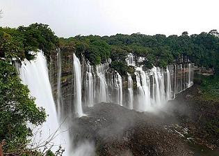 Kalandula Falls - Second Highest Falls in Africa