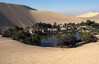 Desert at Ica, Peru