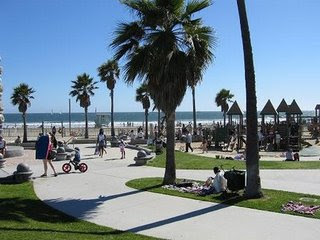 Venice Beach in  California