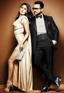 Saif Ali Khan with Kareena Kapoor size zero in Bollywood ...