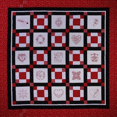 PATTERNS FOR REDWORK QUILTS My Quilt Pattern