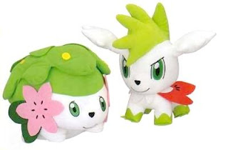 Pokemon Plush Shaymin DX Banpresto