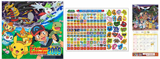 McDonald'sJP Pokemon Calendar 2009