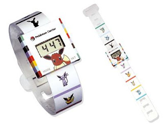 Eeveelution Paper Watch PokemonCenterJP