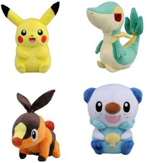 Pokemon BW Talking Plush Tomy