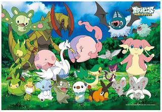 Pokemon Jigsaw Puzzle Isshu Region 300pcs Ensky
