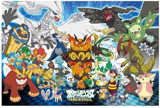 Pokemon Jigsaw Puzzle Isshu Region 500pcs Ensky