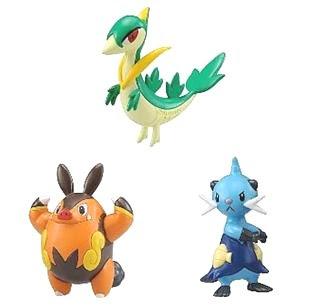 Pokemon Figure BW Tomy MC Janovy Chaoboo Futachimaru Tomy