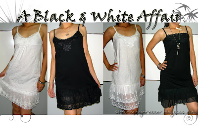 Site Blogspot  Cheap White Dresses on Thesnappydresser   Cheap Womens  Fashion Apparel  Black   White Affair