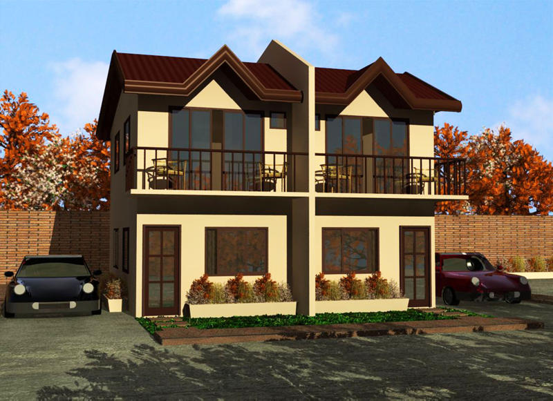 3 Bedroom Duplex Apartment Floor Plans