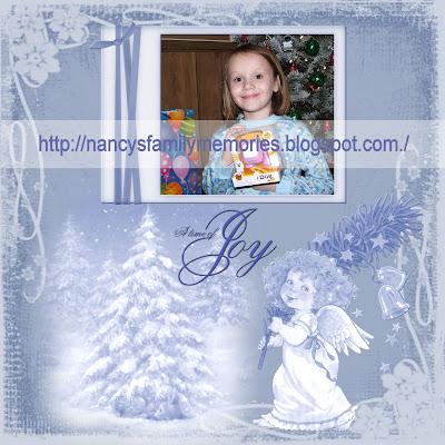 http://nancysmemoriesandscraps.blogspot.com/2009/12/blue-angel-quick-page.html