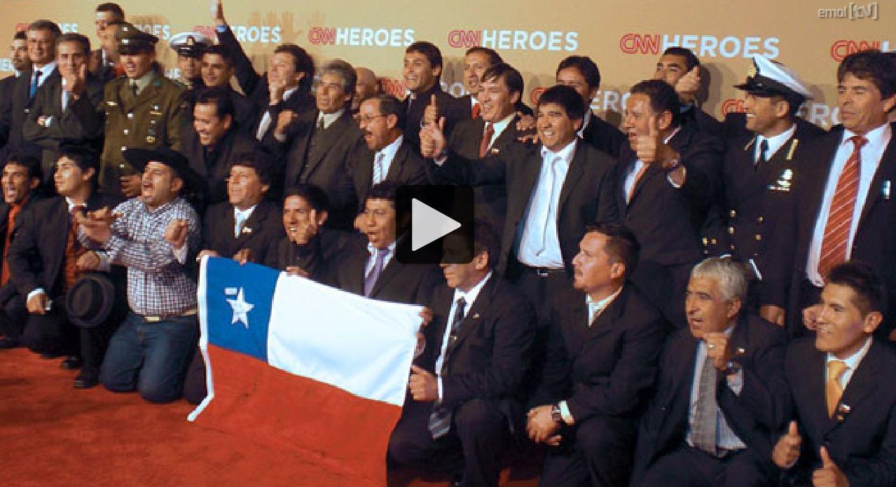 CNN dedica 'Héroes' a los 33 mineros chilenos - La Razón