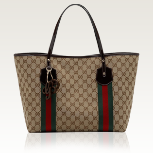 Gucci Large Jolie Stripe Tote