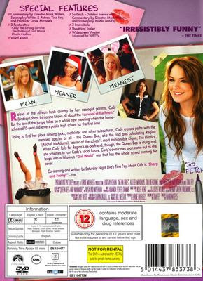 mean girls film analysis Mean girls is not a regular musical, it's a cool musical: ew review  the story  sticks to the script, often literally, of the original film: after moving.