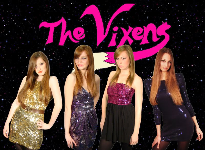 Click on the image to go to The Vixen's Myspace