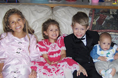 kids dressed up for church