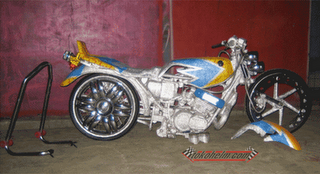 modifikasi motor rx king ceper terkeren